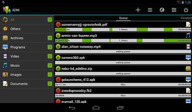 ADM Advanced Download Manager
