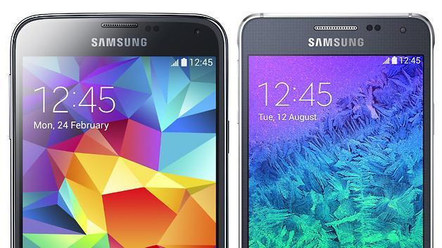 Galaxy S5 VS Alpha