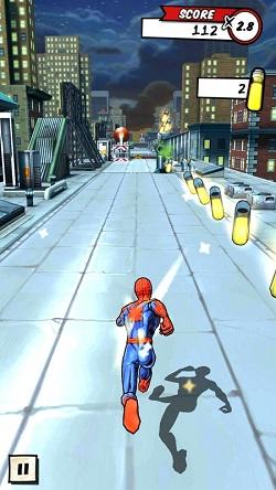 รีวิวเกม Spiderman Unlimited Android