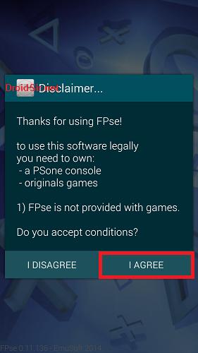 FPse แอพเล่นเกม PS1 PSX บน Android