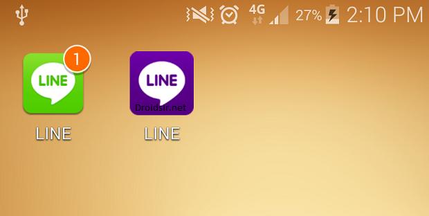 วิธีเล่นไลน์ 2 ID ในเครื่องเดียว (เฉพาะ Android)