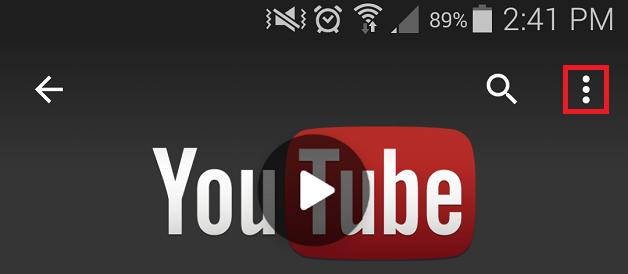 วิธีดูคลิป YouTube HD บนแอนดรอยด์