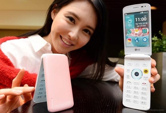 LG เปิดตัวมือถือแอนดรอยด์ฝาพับ Ice Cream Smart flip