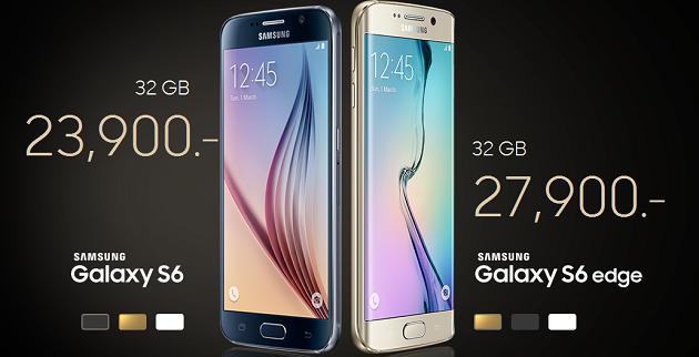 ราคา Samsung Galaxy S6/S6 EDGE