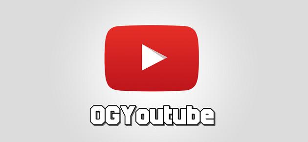 แอพฯ OG YouTube