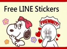 sticker line ฟรี