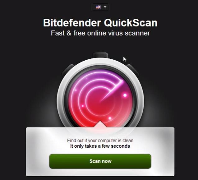 สแกนไวรัสออนไลน์ Bitdefender