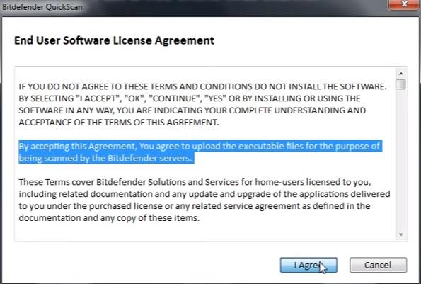 สแกนไวรัสออนไลน์ Bitdefender4