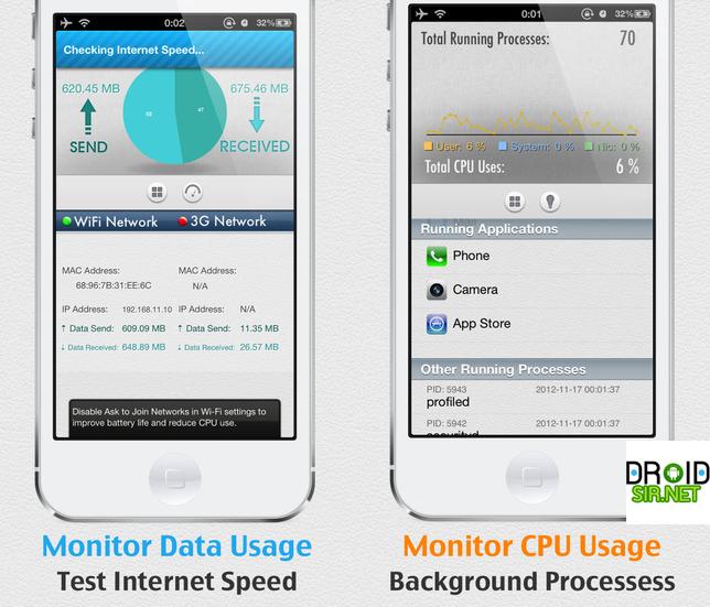 แอพประหยัดแบต SYSTEM UTIL Dashboard FREE droidsir.net2