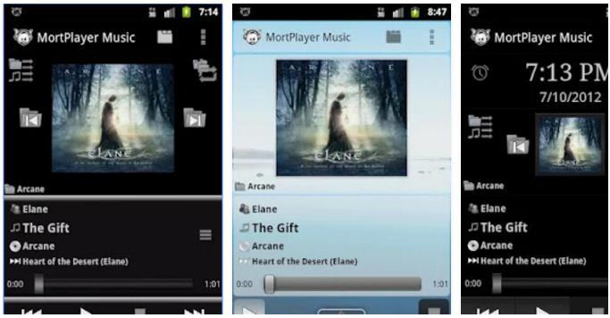 แอพเล่นเพลง MortPlayer Music1