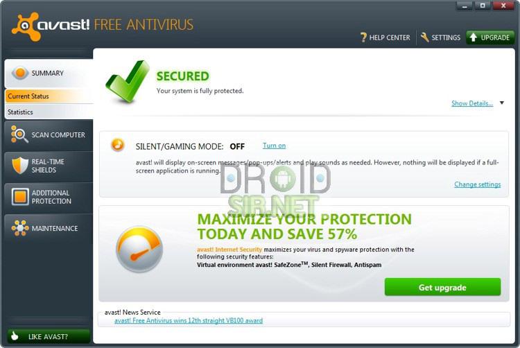 โปรแกรมสแกนไวรัสที่ดีที่สุด 1 - droidsir.net