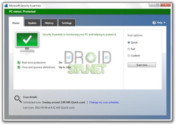 โปรแกรมสแกนไวรัสที่ดีที่สุด 2 - droidsir.net