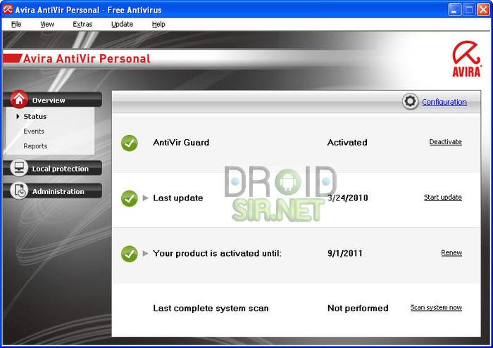 โปรแกรมสแกนไวรัสที่ดีที่สุด 3 - droidsir.net