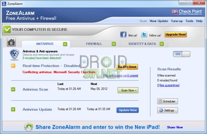 โปรแกรมสแกนไวรัสที่ดีที่สุด 5 - droidsir.net